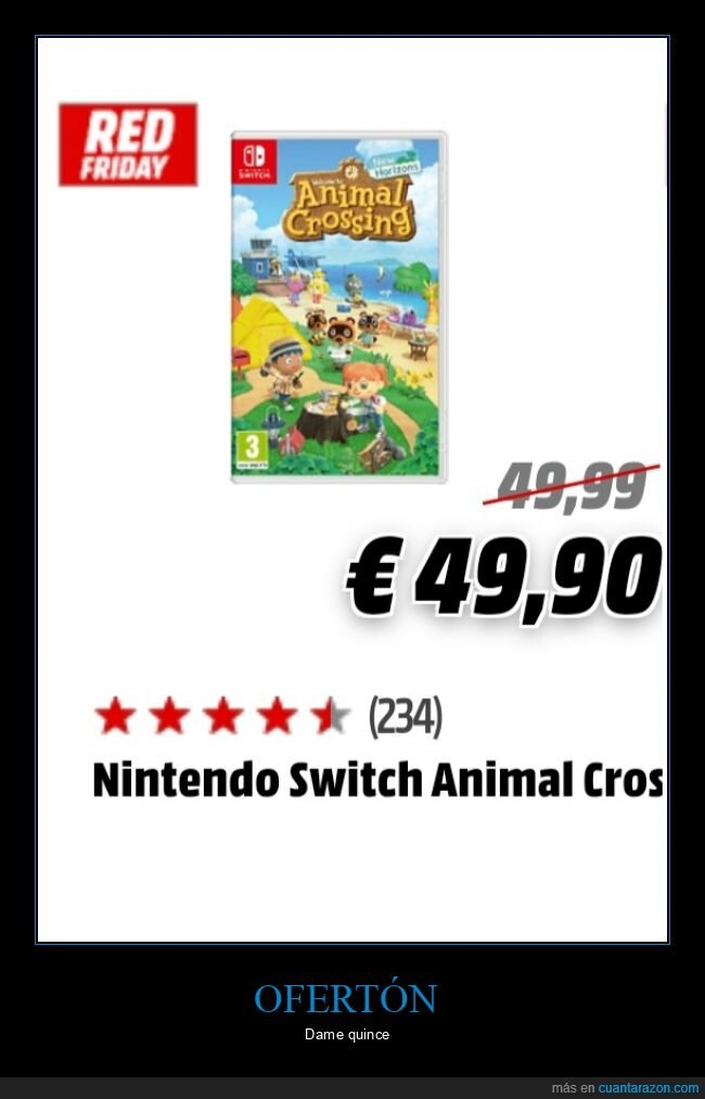 animal crossing,oferta,precio