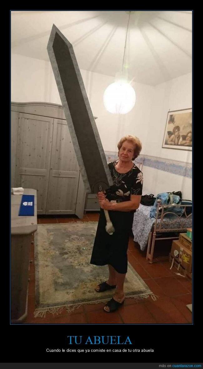 abuela,espada,wtf