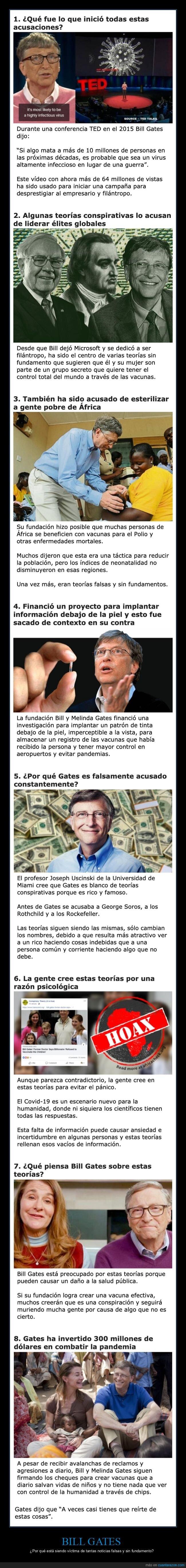 bill gates,conspiraciones,coronavirus