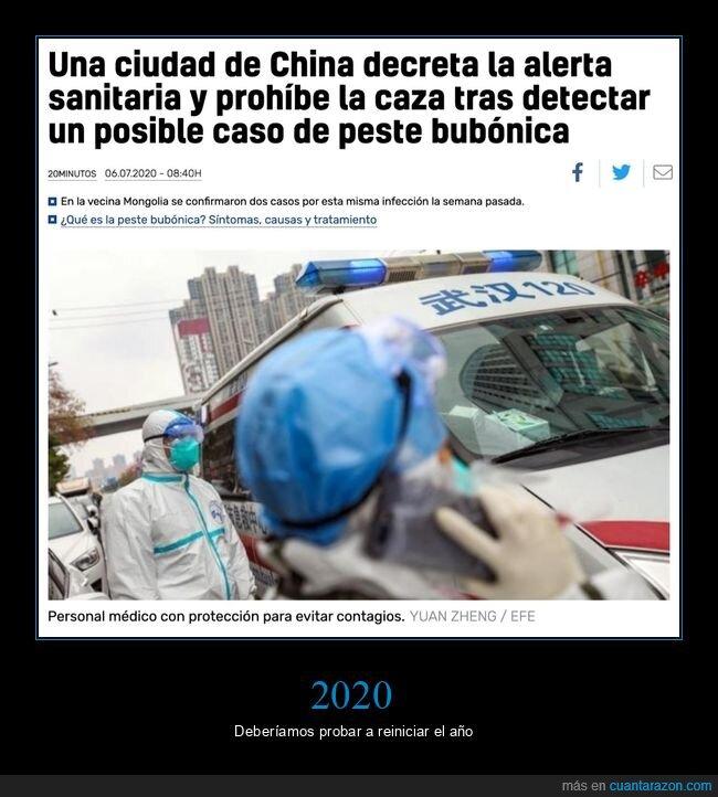 2020,china,peste bubónica,wtf