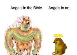 Enlace a Ángeles en la biblia VS Ángeles en el arte
