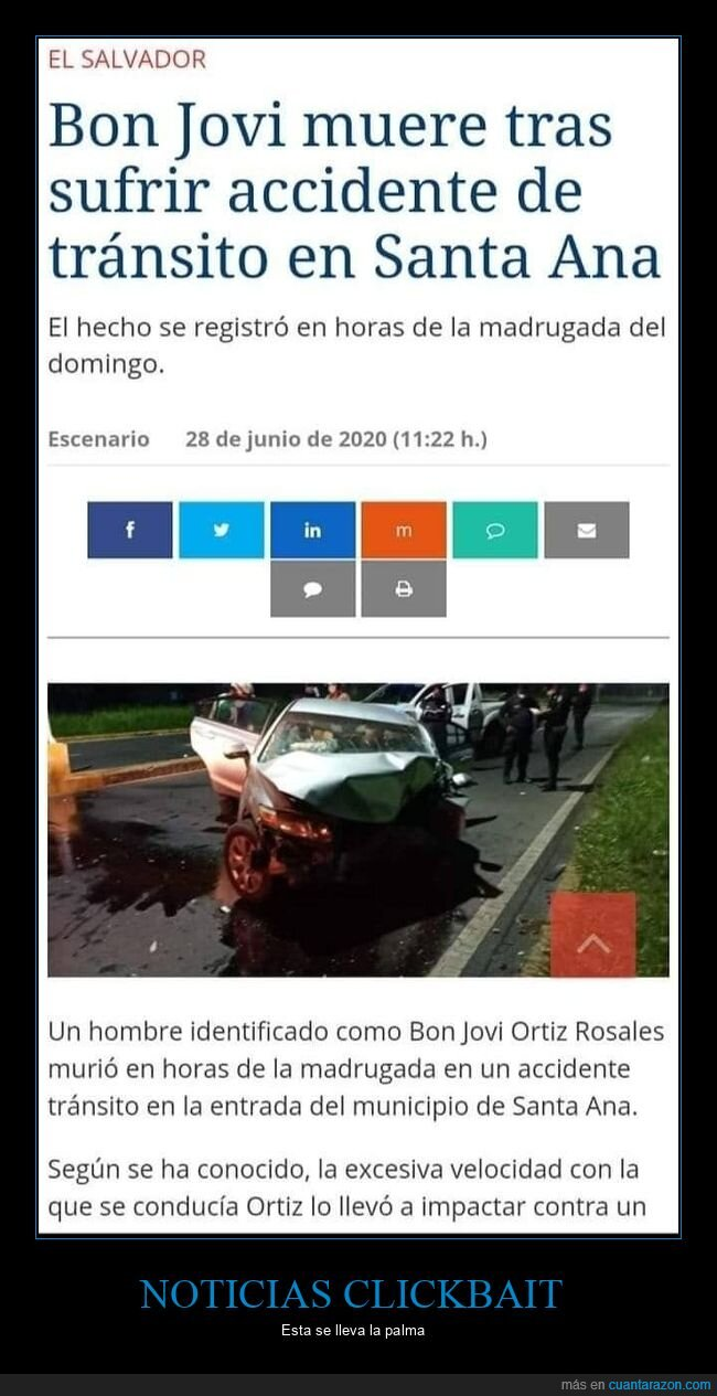 accidente,bon jovi,coche,morir,wtf