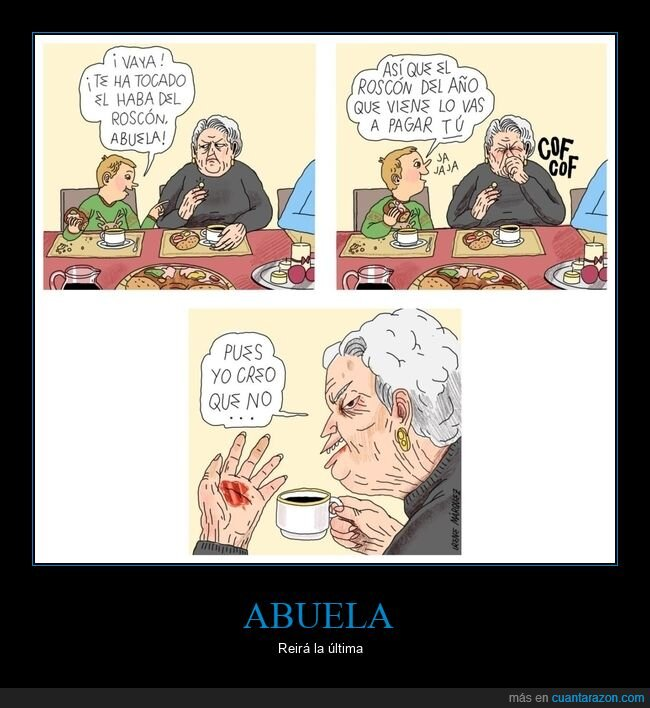 abuela,haba,pagar,roscón