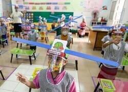 Enlace a La nueva normalidad en los colegios de Tailandia