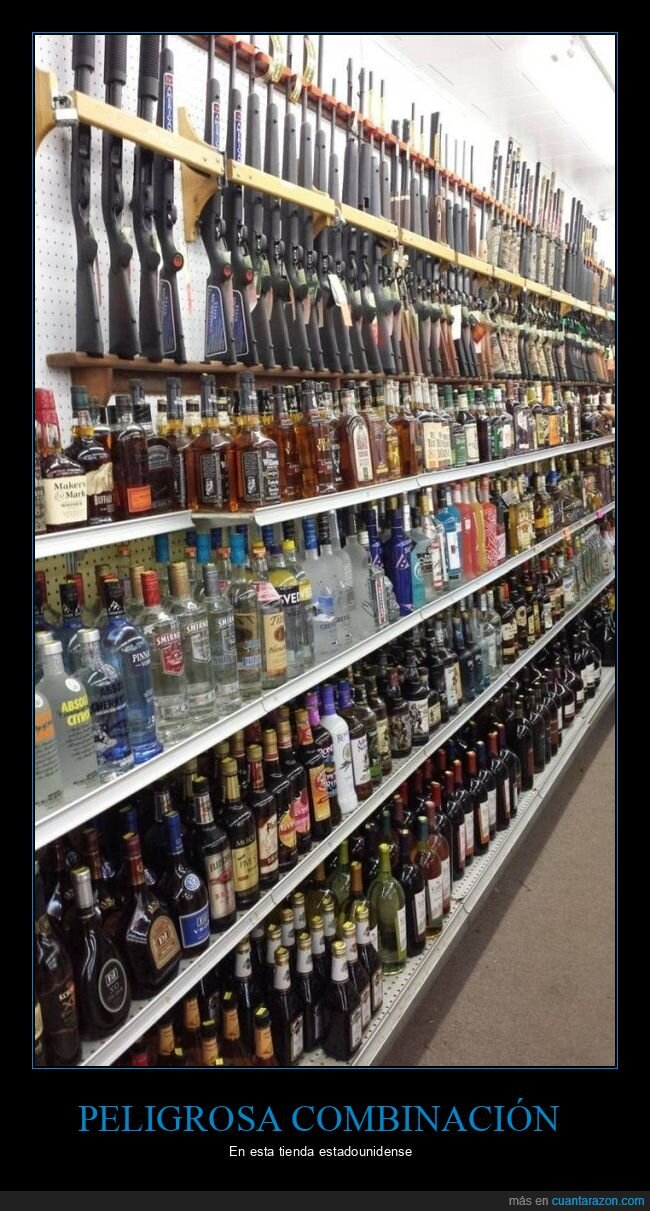 alcohol,armas,eeuu,tienda
