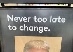Enlace a Nunca es tarde para cambiar