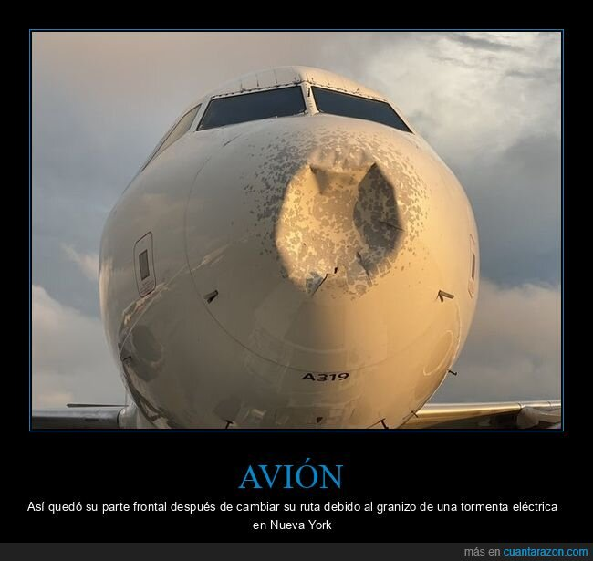 avión,frontal,granizo