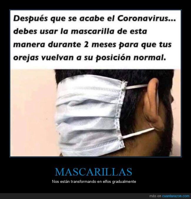 coronavirus,mascarilla,orejas