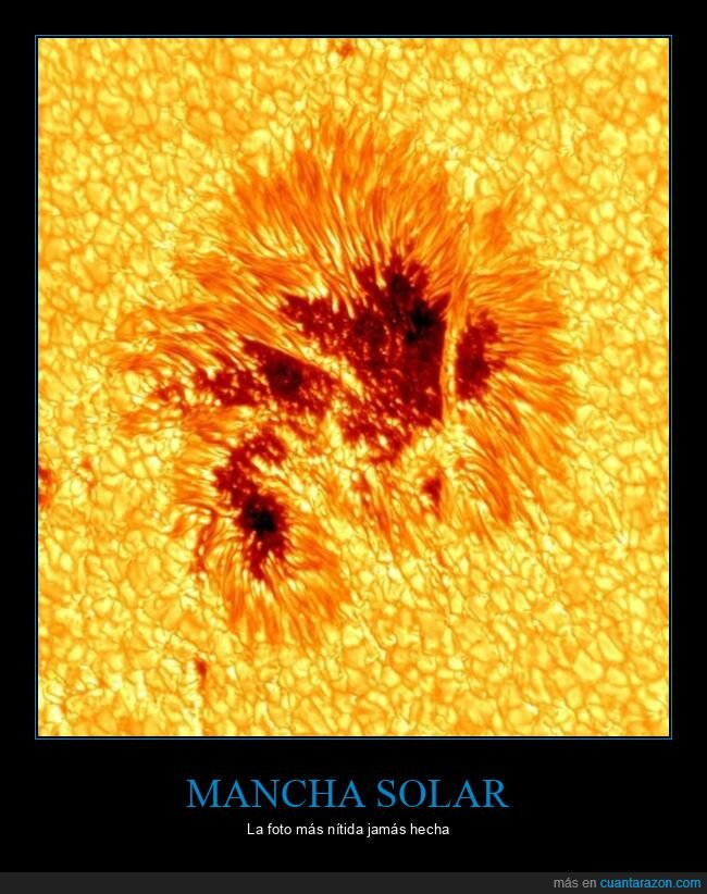 foto,mancha solar,sol