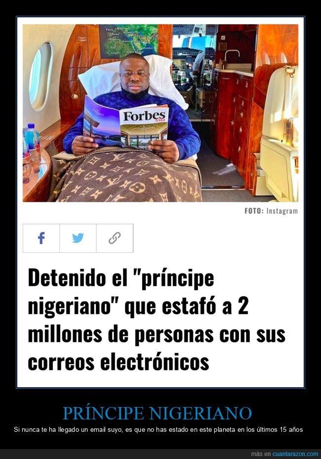 detenido,príncipe nigeriano