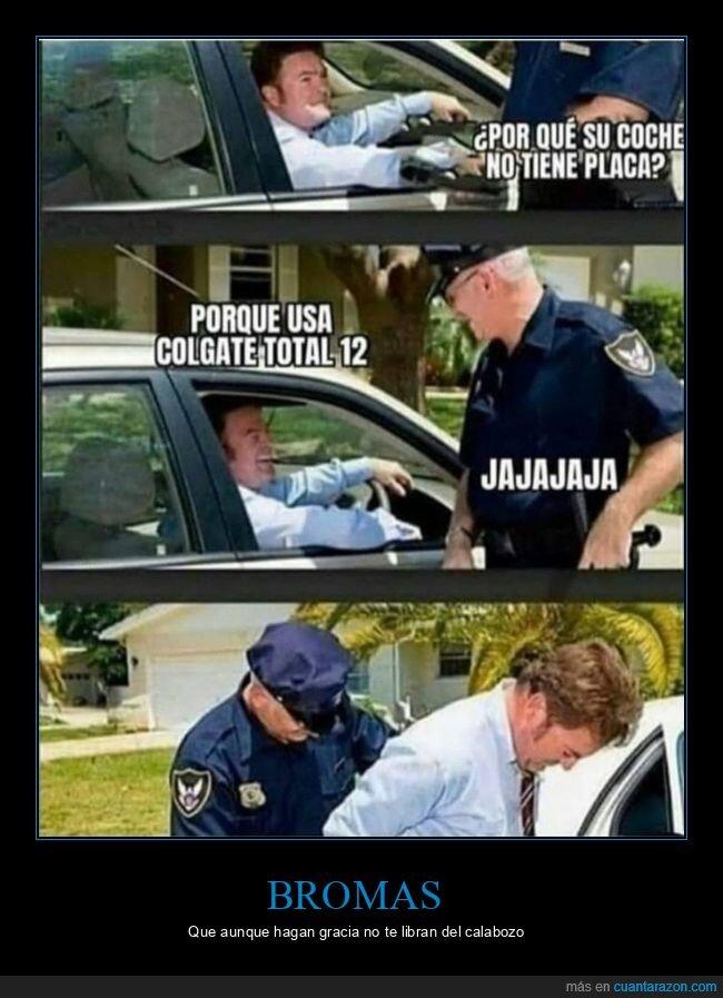 coche,placa,policía