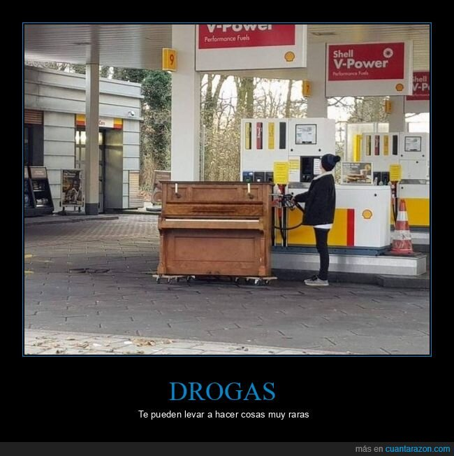 gasolinera,piano,wtf