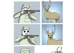 Enlace a El cazador y el ciervo