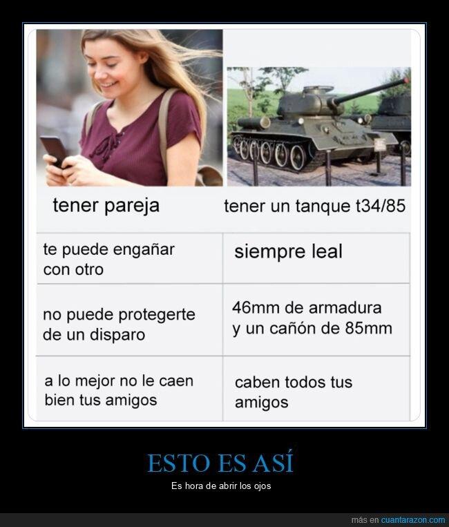 pareja,tanque