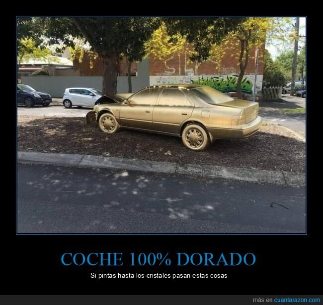 accidente,coche,dorado,wtf
