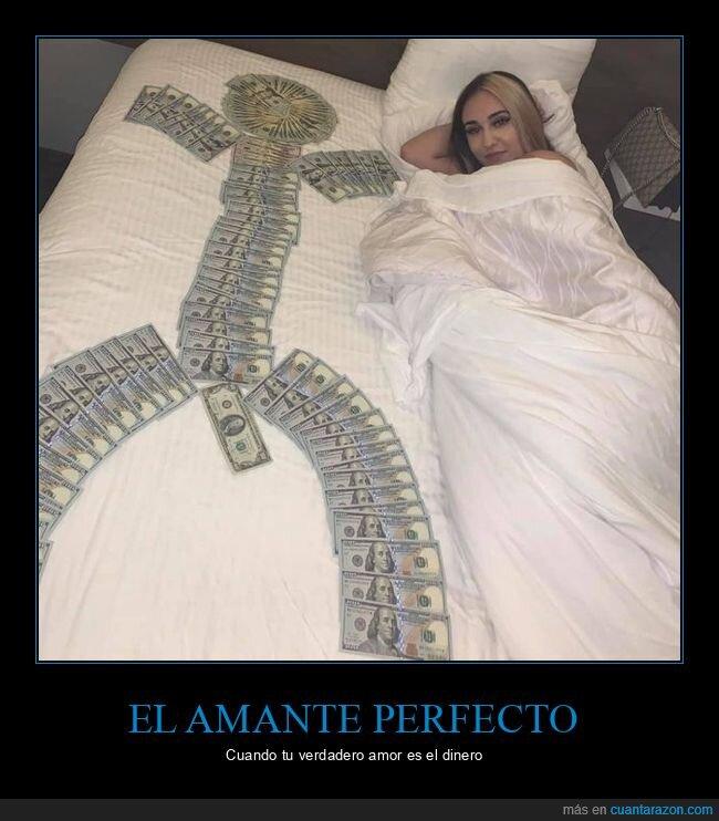 billetes,cama,wtf