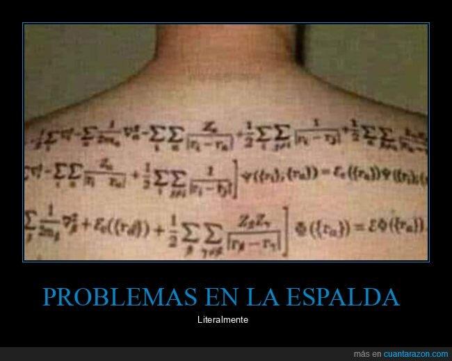 espalda,problemas