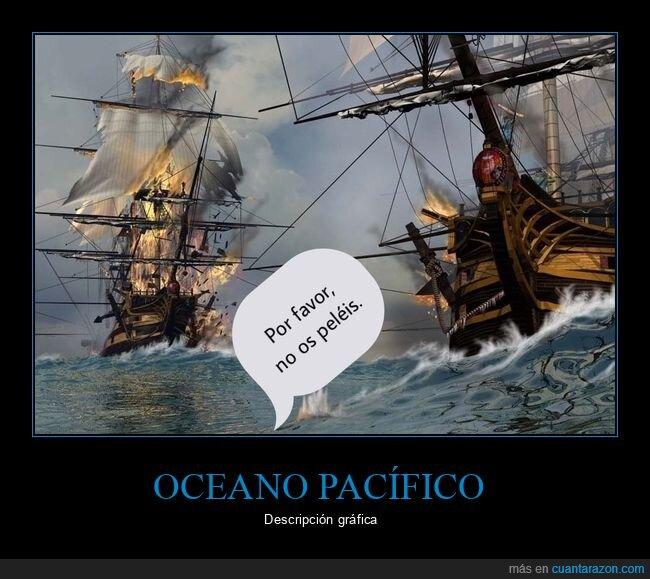 barcos,guerra,oceano,pacifico,paz