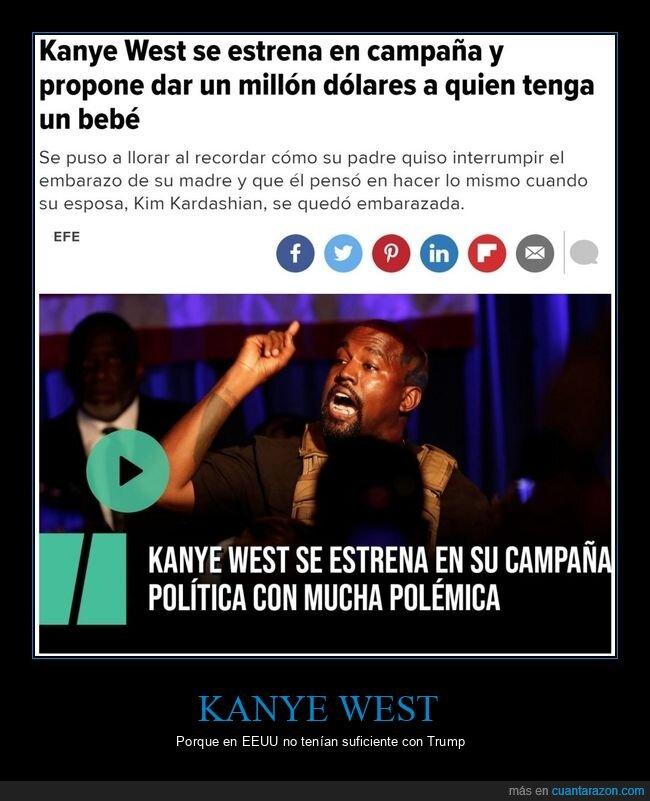 casablanca,eeuu,kanye west,locos,presidencia,usa