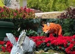 Enlace a El Zoo de San Antonio ha reemplazado todos los animales por sus copias hechas de LEGO