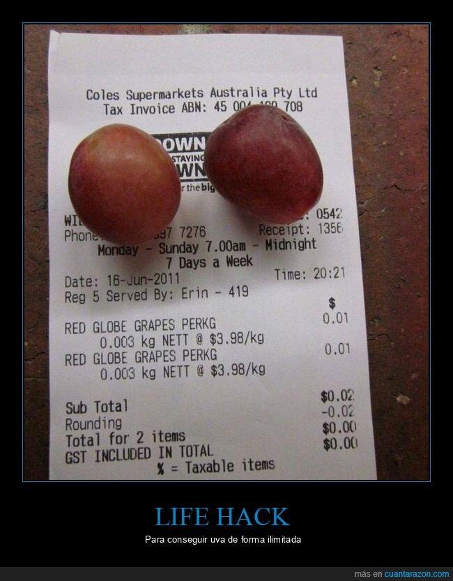 grano,life hack,uva