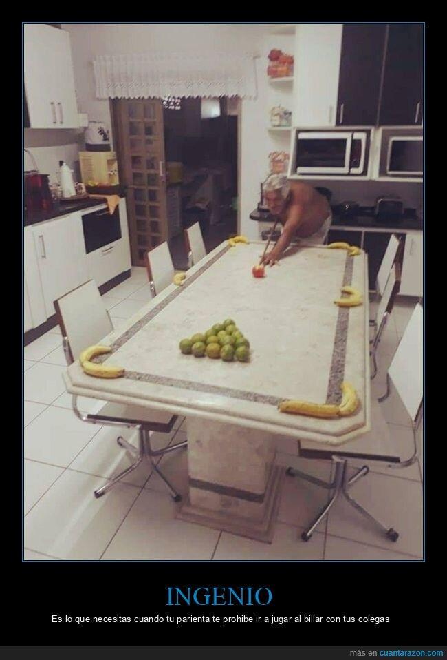 bananas,billar,limones