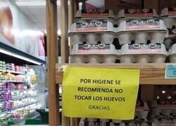Enlace a No tocar los huevos
