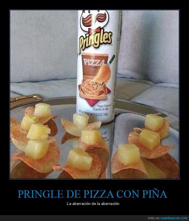 piña,pizza,pringles