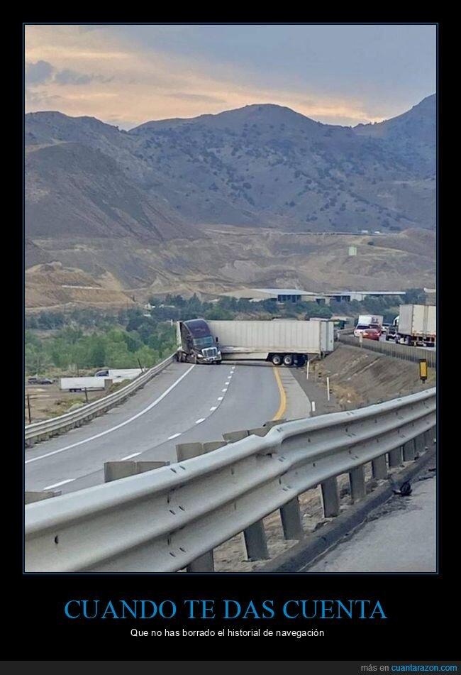 camión,girar,historial,navegación