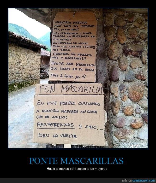 asturias,cartel,coronavirus,cuidar,mayores