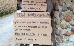 Enlace a El cartel de un pueblo de Asturias que busca proteger a sus mayores frente al coronavirus