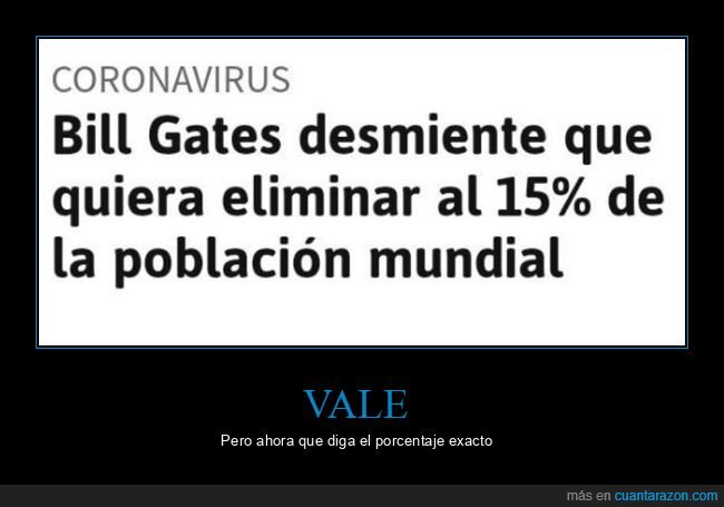 bill gates,eliminar,población mundial