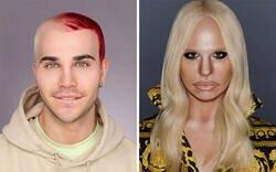 Enlace a A este drag queen de Manchester se le da tan bien el maquillaje que puede convertirse en cualquier celebridad