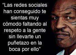 Enlace a Mike Tyson y las redes sociales