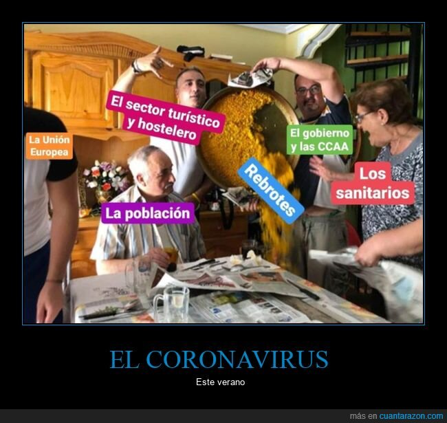 coronavirus,paella,rebrotes
