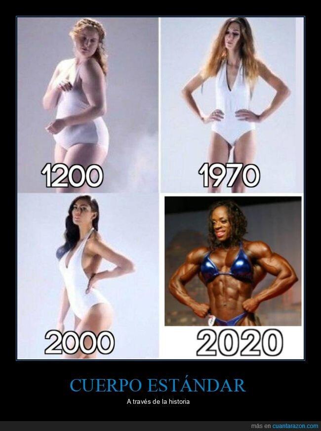 años,cuerpo,épocas,historia