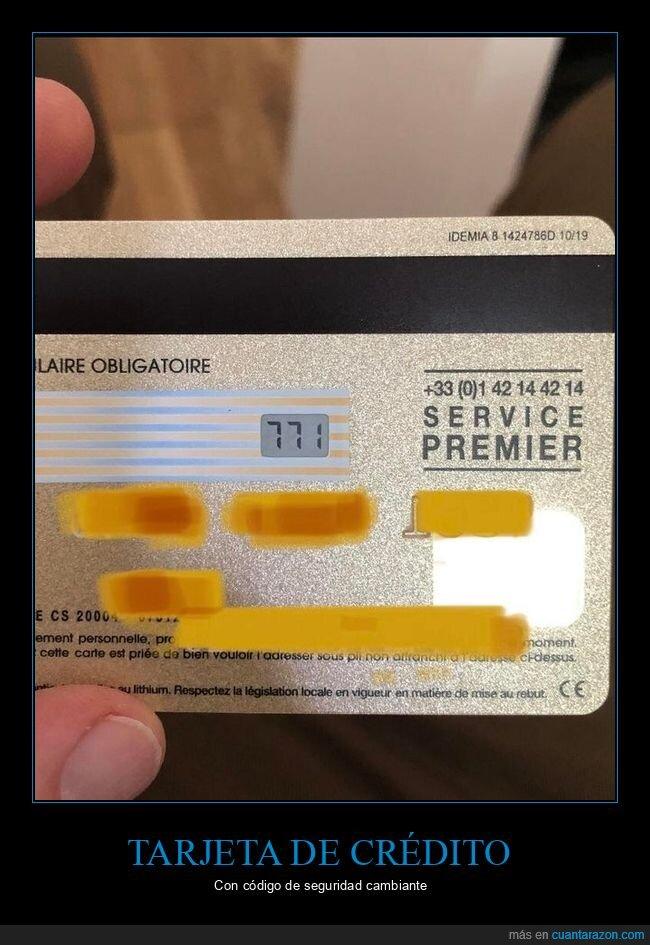 cambiante,código,tarjeta de crédico