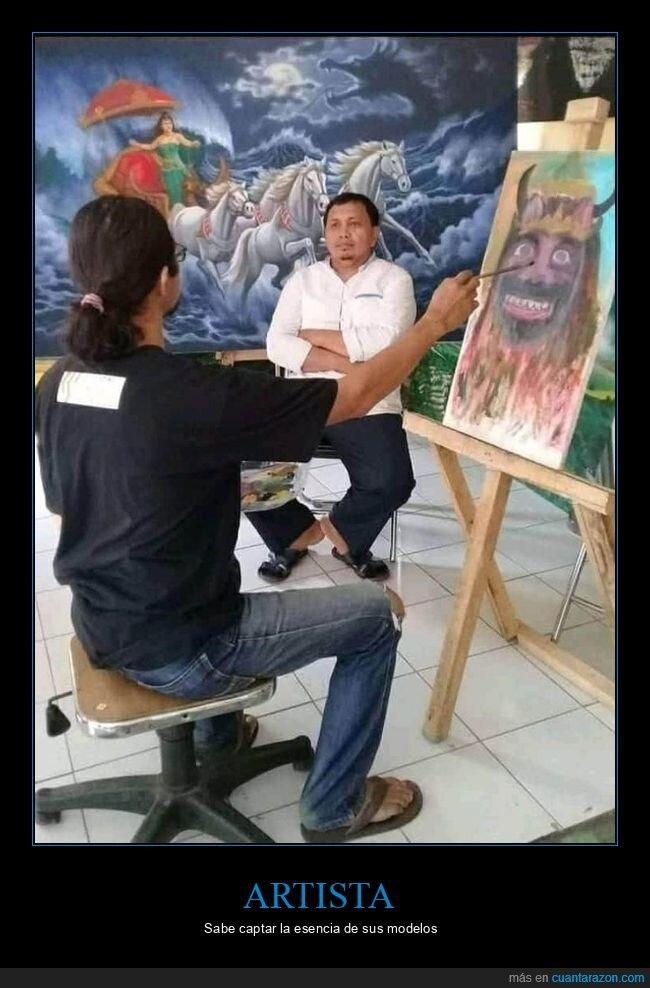 artista,cuadro,pintando,wtf
