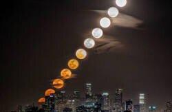 Enlace a La luna en movimiento