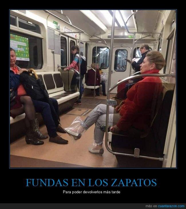 fundas,metro,wtf,zapatos