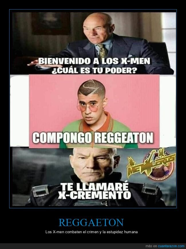 bad bunny,reggaeton,x-men