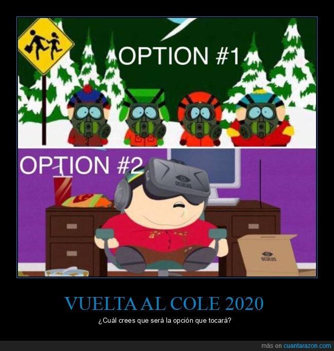 2020,colegio,coronavirus,opciones,south park