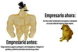 Enlace a Evolución empresarial