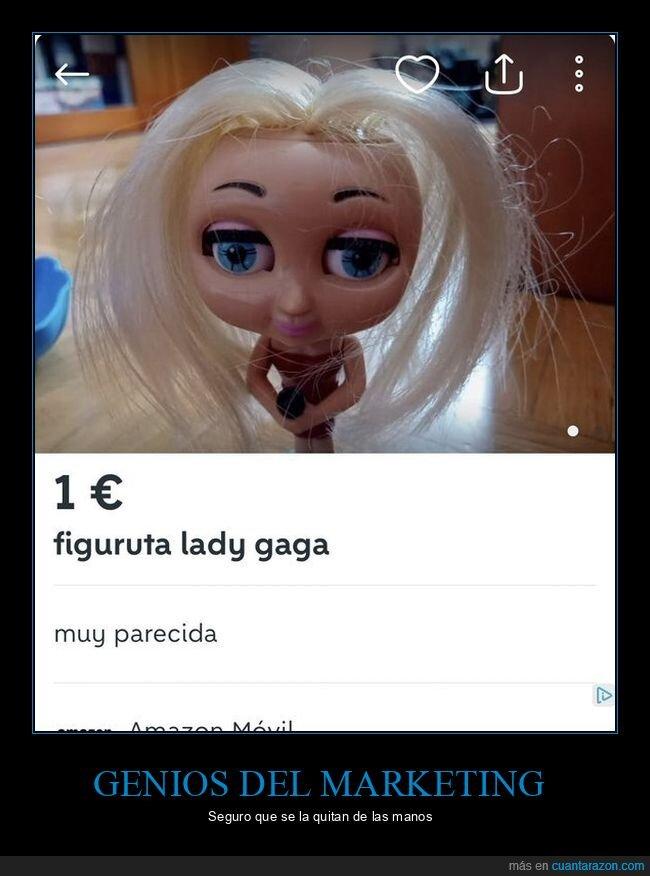 anuncio,lady gaga,mierder,wallapop,wtf