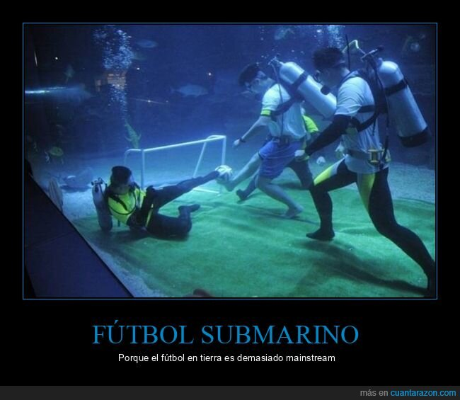 submarinistas,sútbol,wtf
