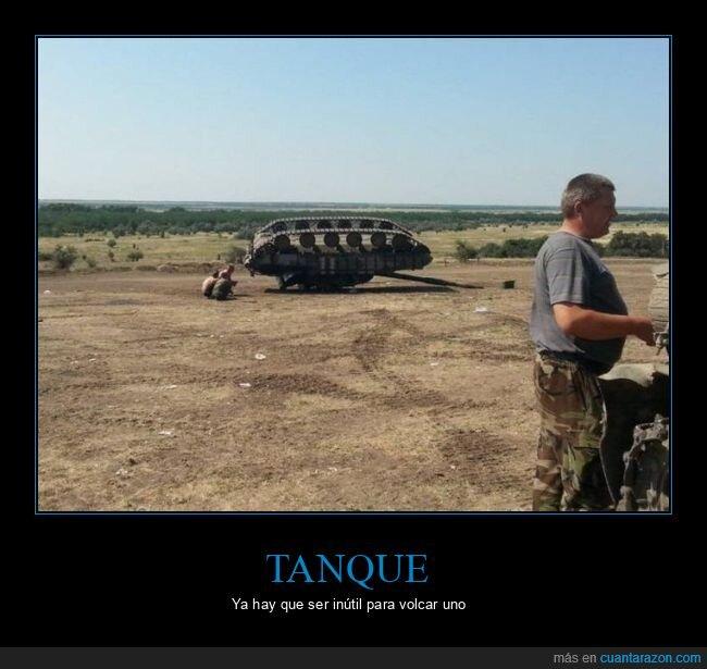 tanque,volcado,wtf