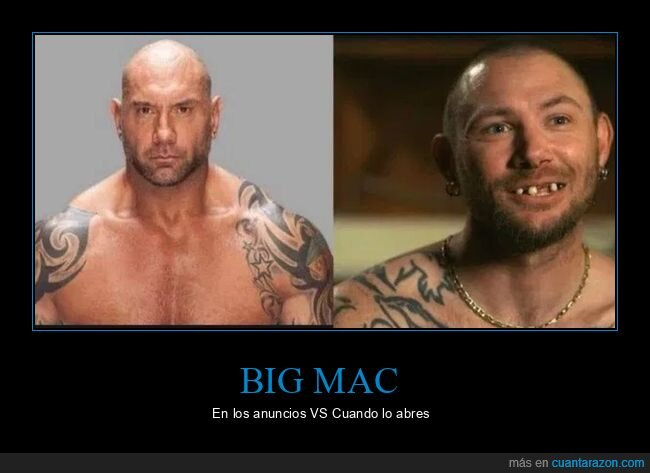 big mac,expectativas,realidad,tiger king