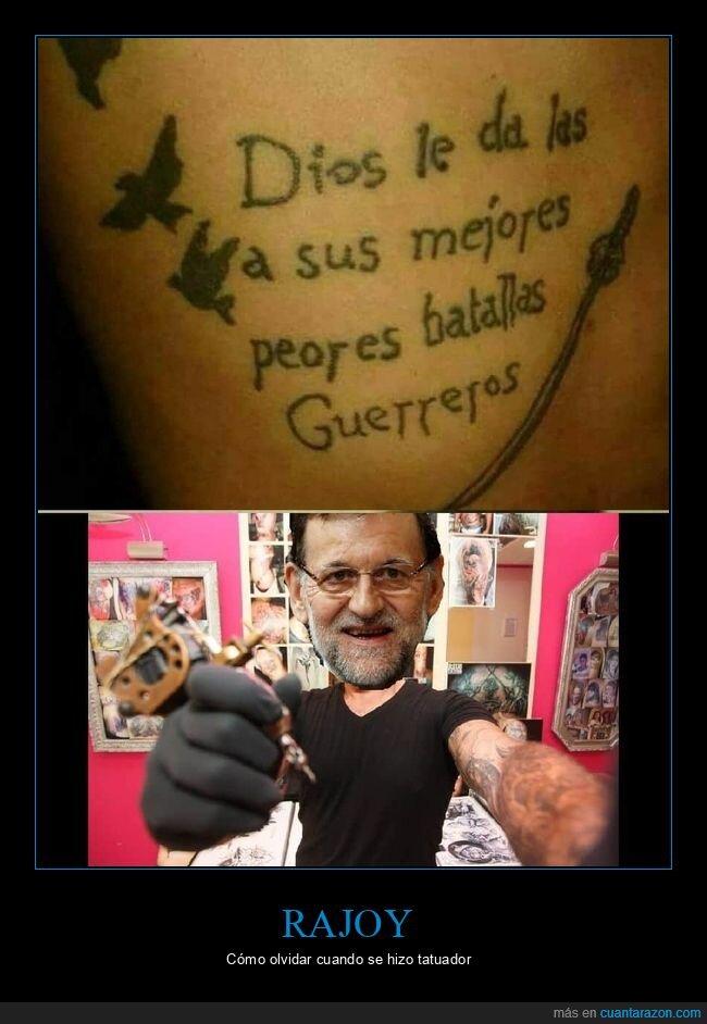 fails,políticos,rajoy,tatuaje