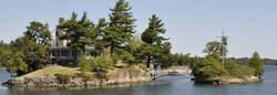 Enlace a Ese pequeño puente une Canadá con EEUU