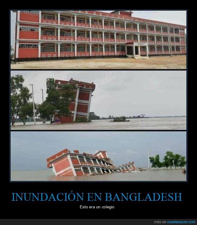 bangladesh,colegio,inundación